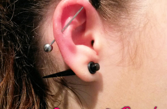 Ear Piercing – Industrial Piercing