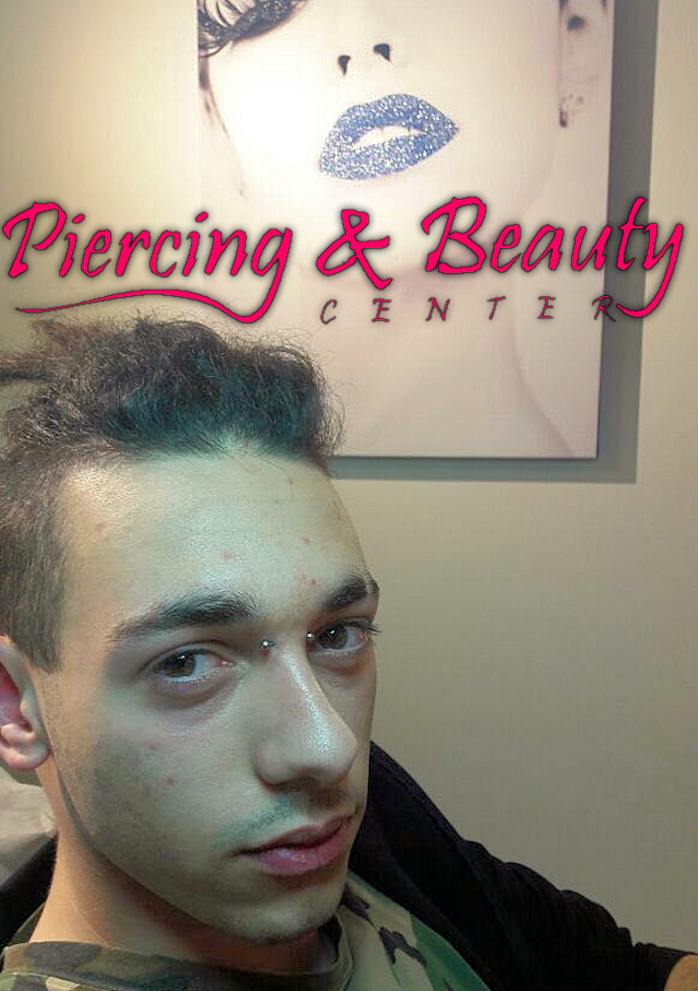 Facial Piercing – Bridge Piercing